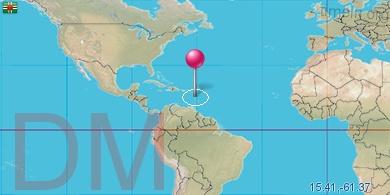 dominika térkép Dominika Místní čas dominika térkép